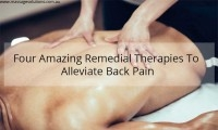 therapies for back pain reduction