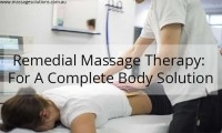Remedial massage Richmond
